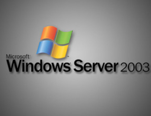 End of Life is Near for Windows Server 2003
